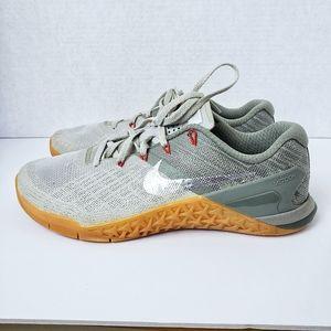 Nike Metcon 3 Dark Stucco shoes Size 8